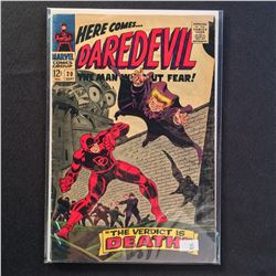 "DAREDEVIL #2,10,14-15 & 23-24 (1964-67) EARLY RUN OF ""THE MAN WITHOUT FEAR!""  #2 IS LOW GRADE BUT"