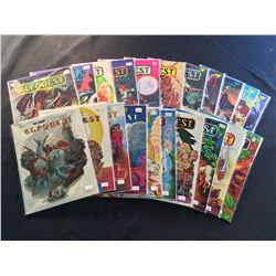 ELFQUEST #1-21 COMPLETE WRAP GRAPHICS SET! (1978-85) (1ST & 2ND PRINTS) #1 IS A  2ND PRINT/#2 IS A