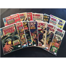 MARVEL SILVER AGE WESTERN LOT X 14 ISSUES (1966-68) INCLUDES GHOST RIDER #7 + KID COLT OUTLAW