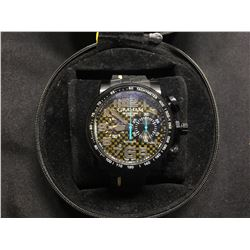 GRAHAM SILVERSTONE STOWE CLASSIC TYCONIAN MEN'S WRISTWATCH, WITH 28 JEWELS, G1742 MOVEMENT, AND