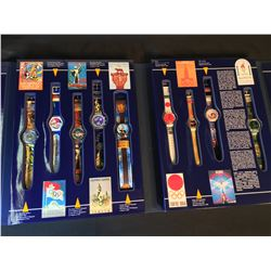SWATCH HISTORICAL OLYMPIC GAMES COLLECTION, 1994, 1ST EDITION, COMES WITH FALL/WINTER COLLECTION