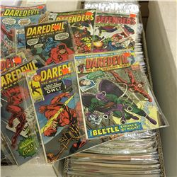 MARVEL & DC MIXED TITLES LONG BOX (1970'S - EARLY 80'S) MID  BRONZE AGE MIXTURE - LOW TO MID GRADE