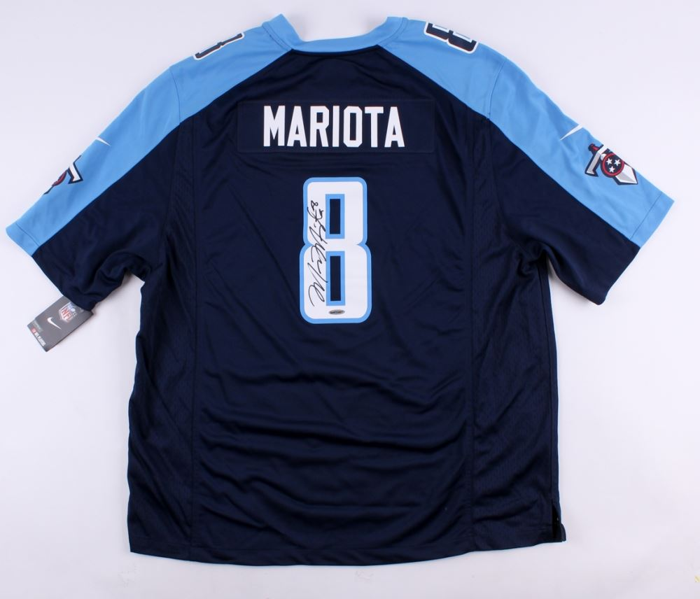 Image 1   Marcus Mariota Signed Titans Nike Authentic On-Field Jersey (UDA  COA 2230a1cd7