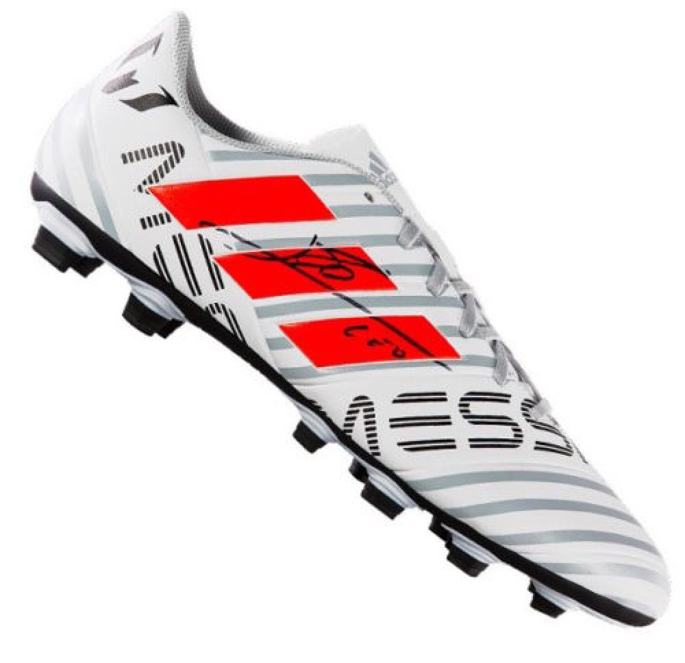 Lionel Messi Signed Adidas Soccer Cleat (Icons COA) bb2819fe191