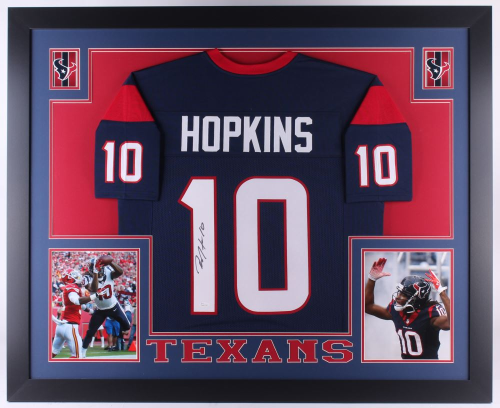 deandre hopkins signed jersey
