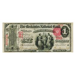 National Banknote Assortment of Original 1st Charter, Plain Back and Date Back Issues.