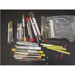 Large Lot of Misc HSS Reamers