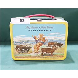 VINTAGE ROY ROGERS METAL LUNCH KIT