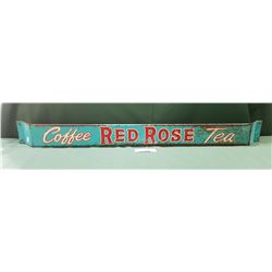 ORIGINAL 1950'S RED ROSE COFFEE/TEA PUSHBAR