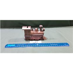 METAL LOCOMOTIVE COIN BANK