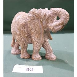 SOAPSTONE ELEPHANT CARVING