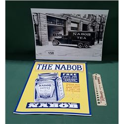 3 PCS NABOB COLLECTIBLES