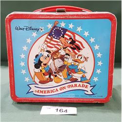 MICKEY MOUSE METAL LUNCH KIT