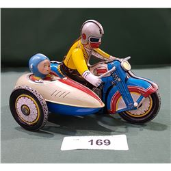 TIN MOTORCYCLE TOY