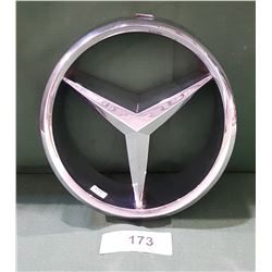 METAL MERCEDES BENZ CAR EMBLEM