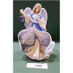 THOAS KINCAID MUSICAL ANGEL FIGURINE
