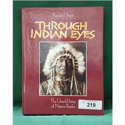 THROUGH INDIAN EYES HARD COVER BOOK