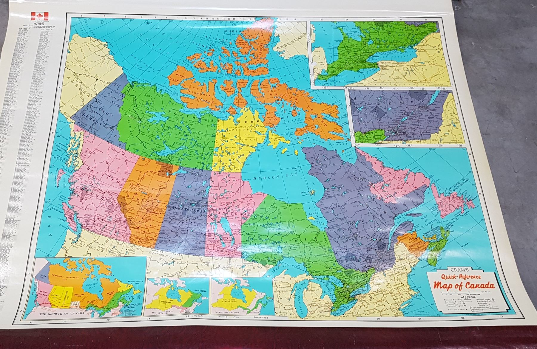 Roll Down World Map.Two Vintage Roll Down World Maps