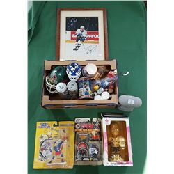 BOX LOT HOCKEY COLLECTIBLES