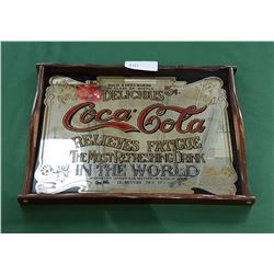 COCA COLA MIRRORED TRAY