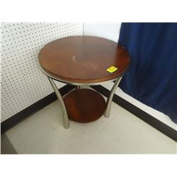 Small Round table show home decor