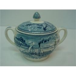 Johnson Bros HISTORIC AMERICA SUGAR Bowl