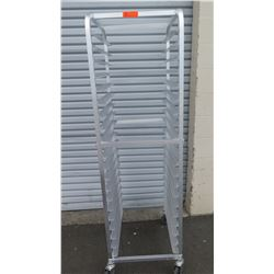 "Mobile Sheet Pan Rack (Speed Rack) 20.5"" x 26"" x 70""H"