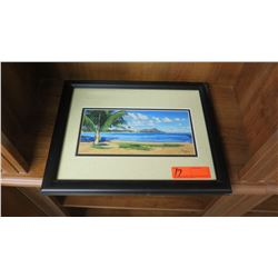 Framed Print: Diamond Head by Boyce