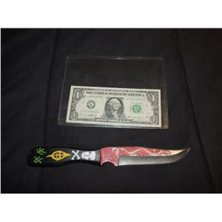 Z-CHILD'S PLAY 1 ICONIC SCREEN USED HERO VOODOO KNIFE