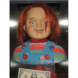 Z-CURSE OF CHUCKY SCREEN USED HERO GOOD GUY HEAD FROM ANIMATRONIC PUPPET