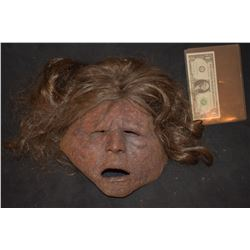 DAWN OF THE DEAD SCREEN USED ROTTEN ZOMBIE MASK 1