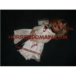 Z-SEED OF CHUCKY HERO DEAD TIFFANY PUPPET SCREEN USED