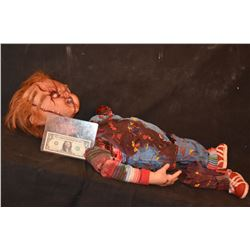 Z-SEED OF CHUCKY SCREEN MATCHED COMPLETE DEAD CHOPPED UP CHUCKY A TRUE MODERN HORROR GRAIL!