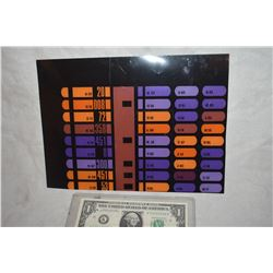 ZZ-CLEARANCE STAR TREK TNG STARSHIP ENTERPRISE SCREEN USED CUT CONTROL PANEL 10