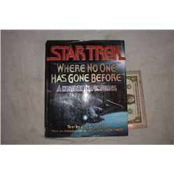 STAR TREK WERE NO ONE HAS GONE BEFORE BOOK