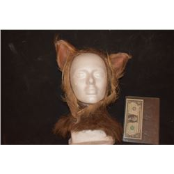 ZZ-CLEARANCE GRIMM SCREEN USED WEREWOLF BEAST CREATURE COWL WITH EARS 5