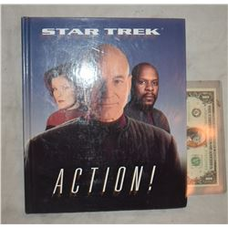 ZZ-CLEARANCE STAR TREK ACTION BOOK