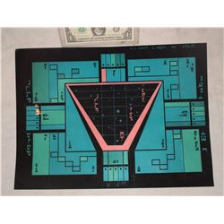 STAR TREK KLINGON ROMULAN VULCAN SCREEN USED BRIDGE CONTROL PANEL 6