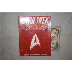 ZZ-CLEARANCE STAR TREK THE ORIGINAL SERIES SKETCH BOOK