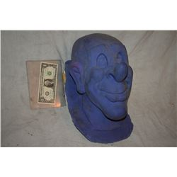 CLOWN HEAD MASK SILICONE MASTER