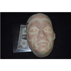 SILICONE FULL FACIAL APPLIANCE ON LIFE CAST