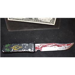 CHILD'S PLAY 1 SCREEN USED HERO RETRACTABLE VOODOO KNIFE BOUGHT ON PAWN STARS TV SHOW