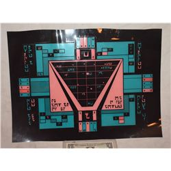 STAR TREK KLINGON ROMULAN VULCAN SCREEN USED BRIDGE CONTROL PANEL 2