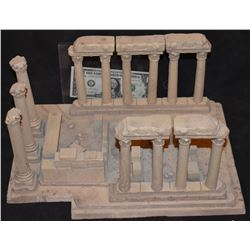 MINIATURE ANCIENT GREEK ROMAN RUINS FROM CRANT MCCUNE ARCHIVES 1