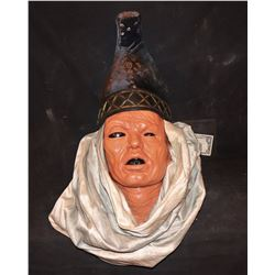 300 EPHIALTES SCREEN MATCHED HERO JESTER HEADDRESS WITH URETHANE HEAD TO DISPLAY