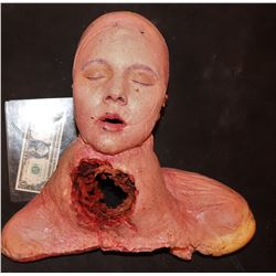 SEVERED BLOODY CORPSE VICTIM HEAD FOAM 2
