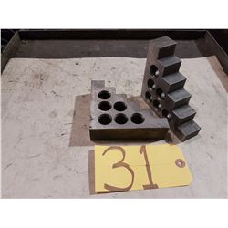 Set of Precision Positioning Blocks