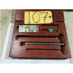 Box with Boring Bar Set with inserts CCMT 21.51