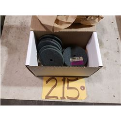"Box of Standard Abrasives Scotch-Brite Unitized Wheel Soft Mauve 3""x1/4""x3/8"""