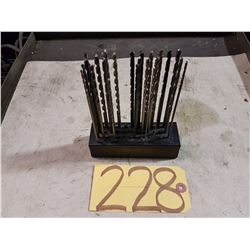 Set of Extra Lenght Number Drill